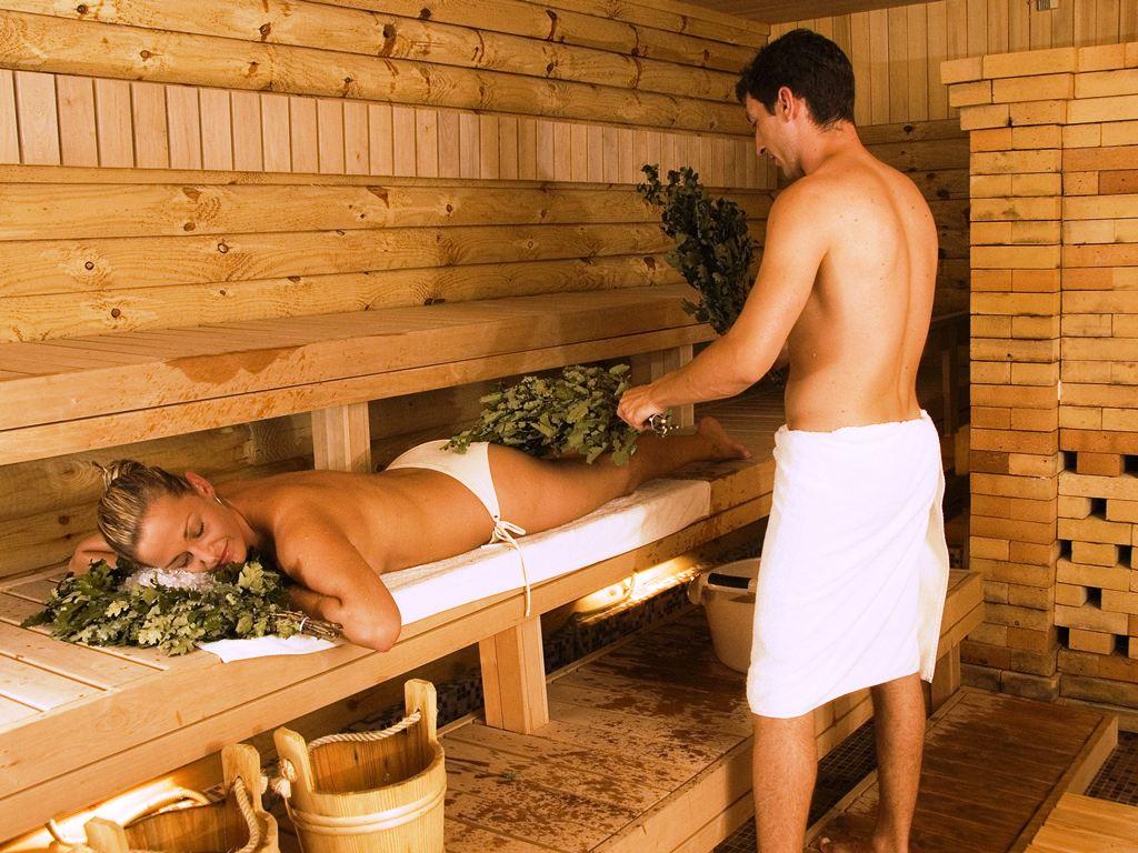 Русские девушки в в бане 5 фотография
