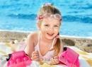 солнечный ожог у ребенка на пляже